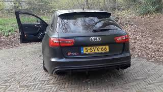 Audi RS6 w/ 700 HP REVVING!!! Tuned by JD Customs
