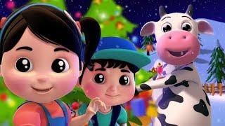 甲板大厅 | 为孩子们的圣诞歌曲 | 圣诞快乐 | 圣诞老人的歌 | Christmas Carols | Deck the Halls In English