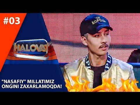 """Halovat 3-son """"Nasafiy"""" Millatimiz Ongini Zaharlamoqdami?  (25.09.2019)"""