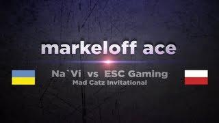 Na`Vi markeloff vs ESC @ Mad Catz Invitational