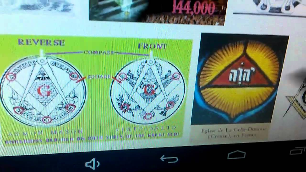 Watchtower ILLUMINATI symbols