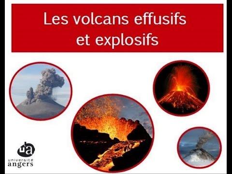 Les volcans effusifs et explosifs des diff rences - Difference four catalyse et pyrolyse ...