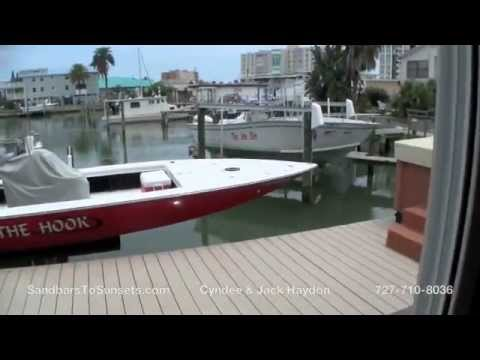 Redington Shores Waterfront Home for Sale