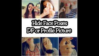 Hide Face Selfie Poses DP Or Profile Picture Poses Santoshi Megharaj