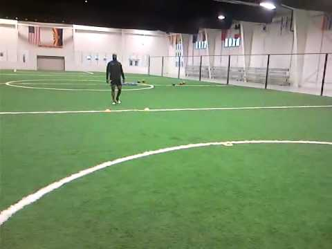 Quentin Andrews & Ray Berry Cone drills 22 Feb.3g2