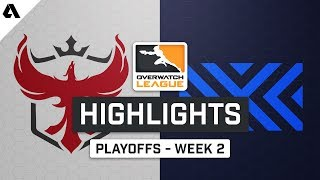 Atlanta Reign vs New York Excelsior | Playoffs Week 2 | Day 4 - Overwatch League S2 Highlights