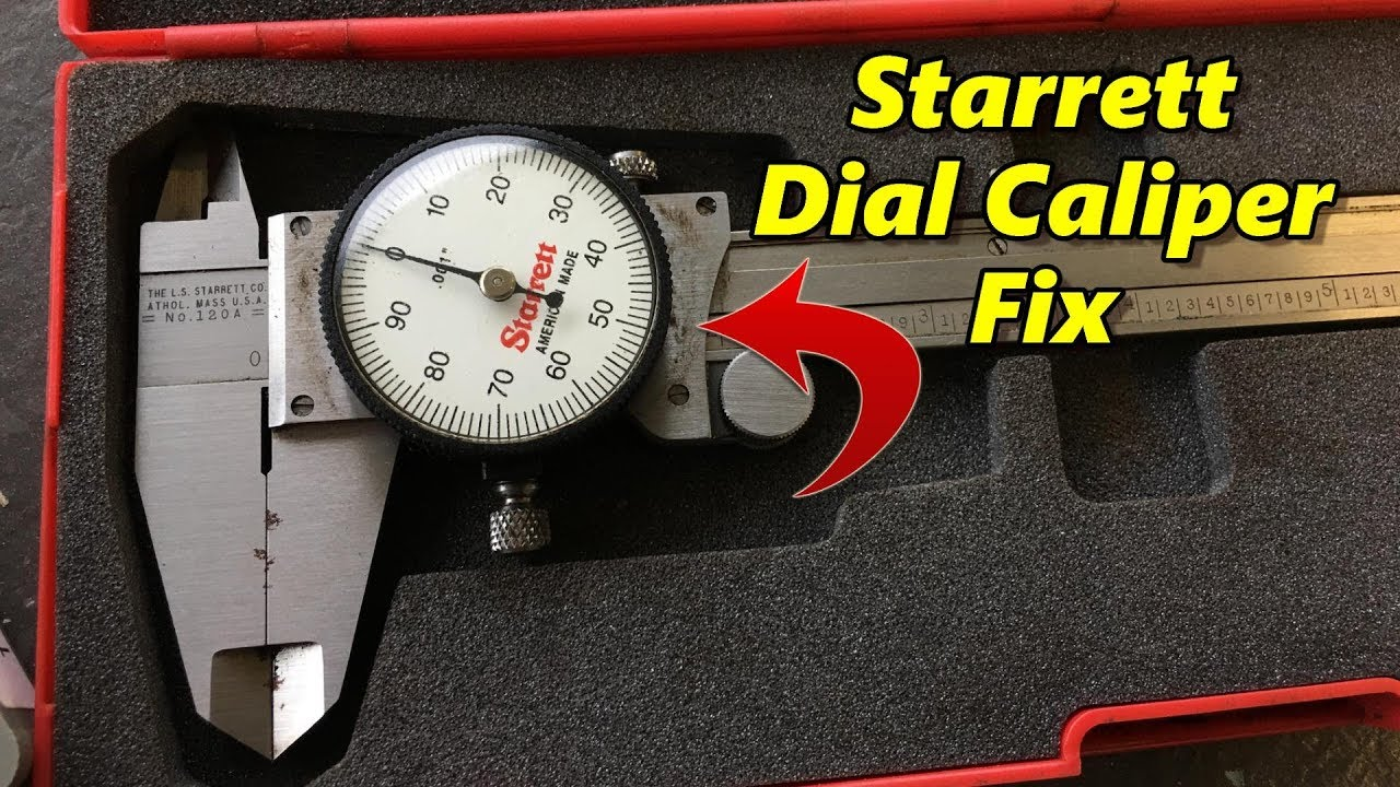 Shop Talk 18  Starrett Dial Caliper Fix