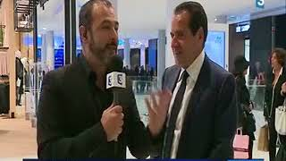 France 3 Lorraine  Interview Maurice BANSAY, Apsys, Centre commercial Muse, Metz