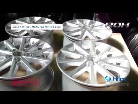 Complete Alloy Wheel Manufacturing Line For Sale - ROH Automotive Australia