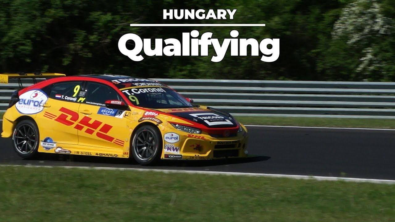 Tom Coronel Drama Qualifying Wtcr Tom Coronel In Hungary What Is Wrong