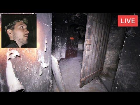 Exploration nocturne d'un fort de guerre en LIVE (Rediffusion)