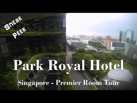 Sneak Peek: Singapore PARKROYAL Hotel on Pickering Premier Room Tour