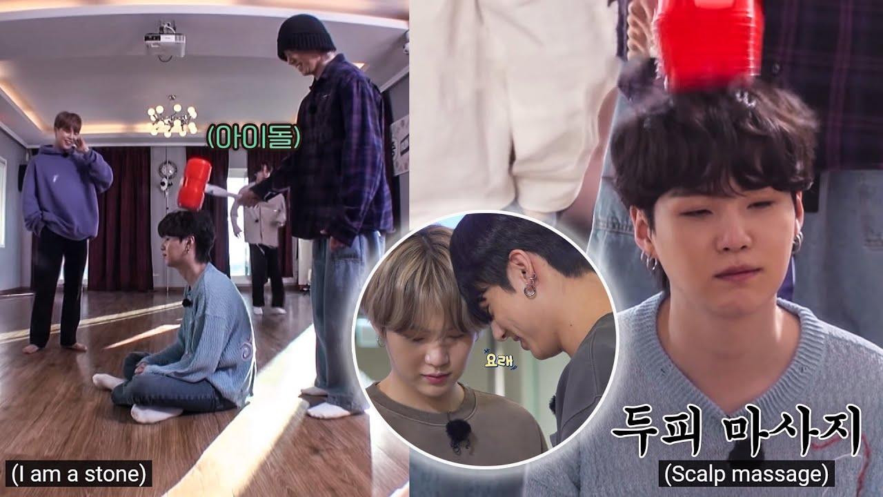 [방탄소년단 슈가 정국] 윤기형의 귀염둥이 보배/ Jungkook is Suga's baby