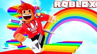RAINBOW LAND 🌈!! Roblox ESCAPE Rainbow Land Obby!