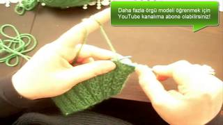 Bambu Örgü Modeli ve Yapılışı