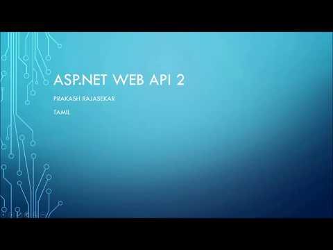 WebAPI Part1 -Tamil
