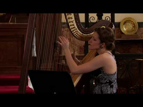 Duo Milot & Bareil: Scarborough Fair for violin and harp (arr. Bareil)