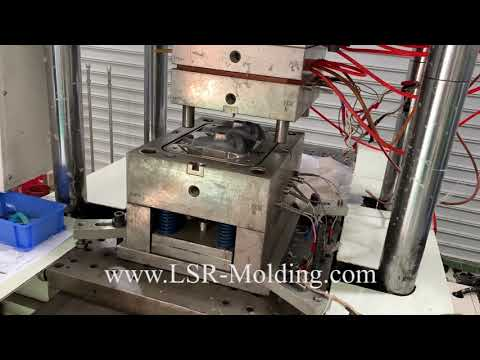 Silicone Medium CPAP Full Face Mask Production by Liquid Injection Mold