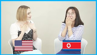 American Meets North Korean For the First Time!!!