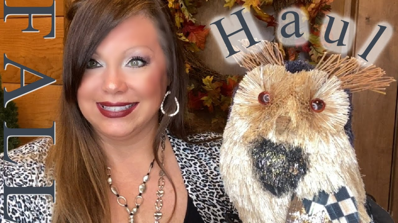 Fall 🍁 Haul // At Home // HomeGoods // Lowe's // Amazon // Overstock // Clothes // Boots