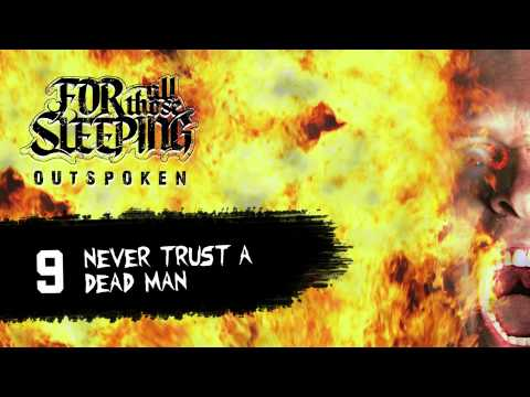 Клип For All Those Sleeping - Never Trust A Dead Man