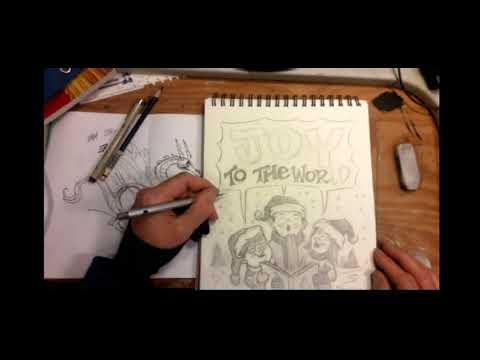 Joy To The World Sketch Clip