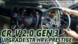 Honda CR-V 2.0 Gen 3 UPGRADE Stir Honda HR-V Prestige Wood Panel (Rare Item) Original Honda