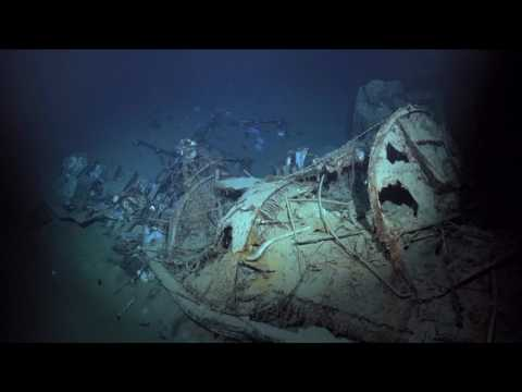 Research Vessel R/V Petrel Discovers Wreck of WWII Italian Destroyer Artigliere
