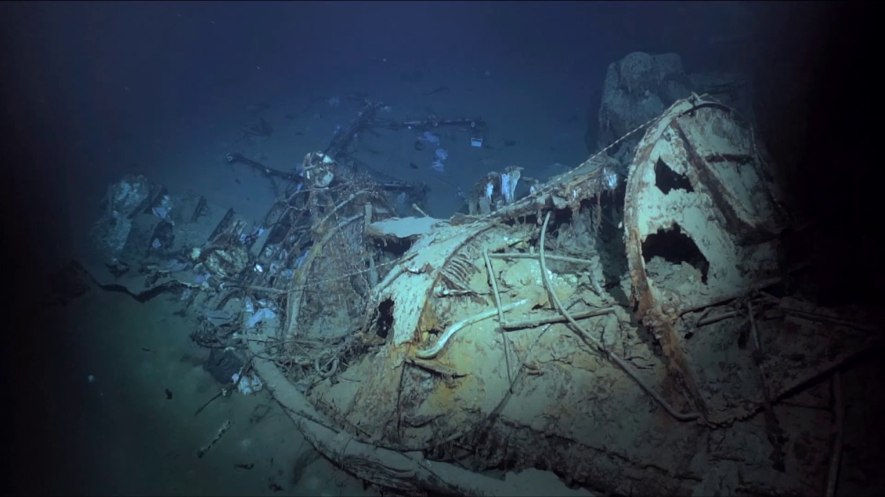 research vessel rv petrel discovers wreck of wwii italian
