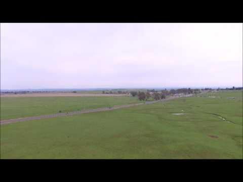 Drone Elk Grove cattle ranch 3 19 17