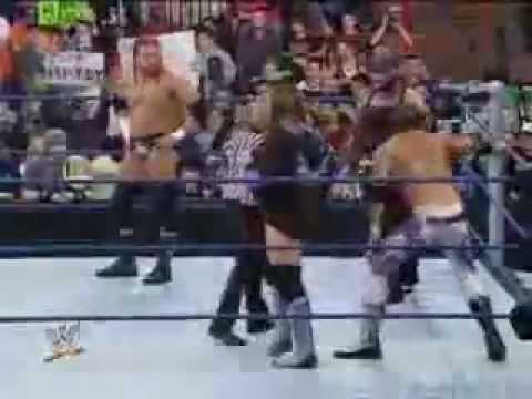 WWE SmackDown 12/5/08 part4 - Jeff Hardy &...