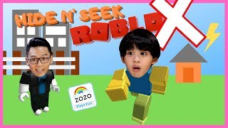 ROBLOX HIDE and SEEK EXTREME Family Game Night Family Fun Game