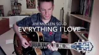 Jim Mullen Solo Transcription - Ev