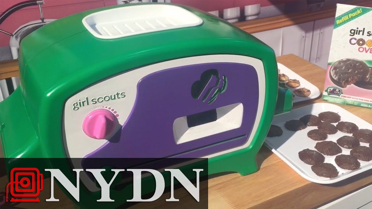 new oven lets you bake girl scout cookies at home   youtube