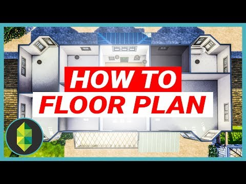 How To Design the PERFECT Floor Plan - 64x64 MANSION (Sims 4 House Build)