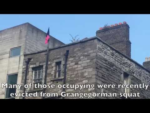 Inside the squatted Debtors prison in Dublin