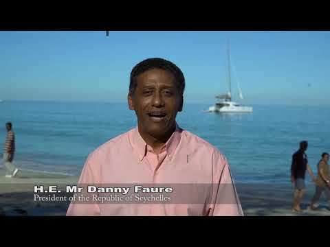 """""""Raise the Flag for the Oceans"""" nomination - Danny Faure, President of Seychelles"""