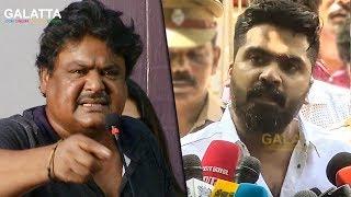 மன்சூர் அலி கான் உயிரோடு இருக்காரா இல்லையா ? STR | Mansoor Ali Khan | Cauvery Issue