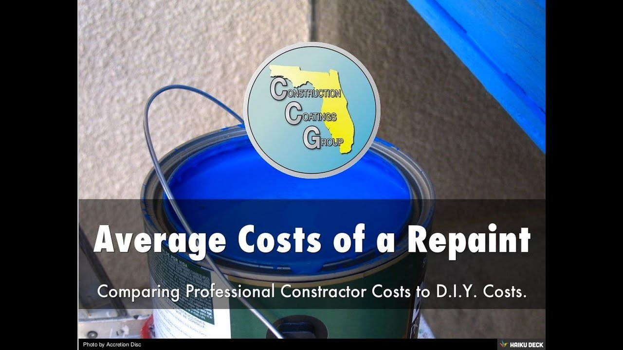 How Much Does It Cost To Paint My House?   Average Repaint Prices   YouTube