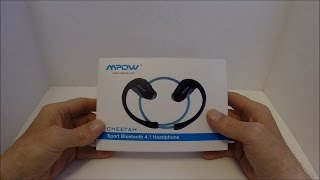 Mpow® Cheetah Bluetooth 4.1 Wireless Stereo Headphones Review