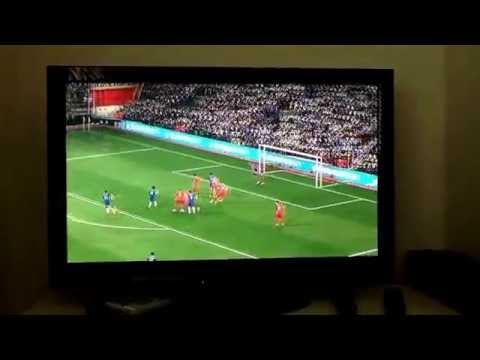 Fifa 15 Demo | Great Free-Kick from Hazard | Amazing Header from Oscar