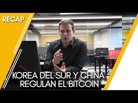 Korea del Sur y China regulan el bitcoin