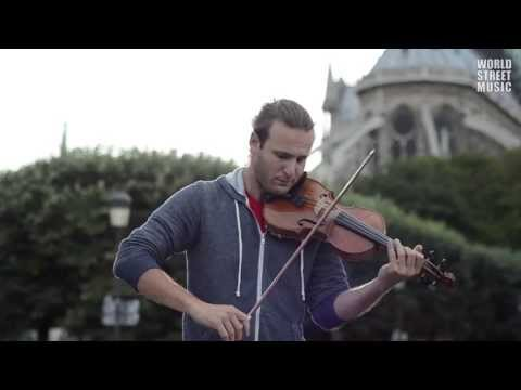 Paris Street Music : J.Ivanovic Waves of the Danube (HD)