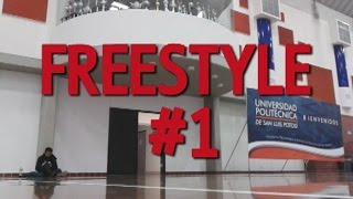 FREESTYLE #1 / POPPING UPSLP - Popper Branco & Chino Boogaloo
