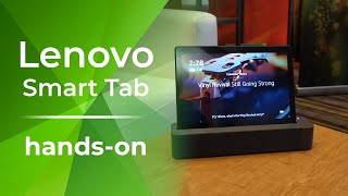 Lenovo Smart Tab is an Android tablet that's practical for the home [hands-on]