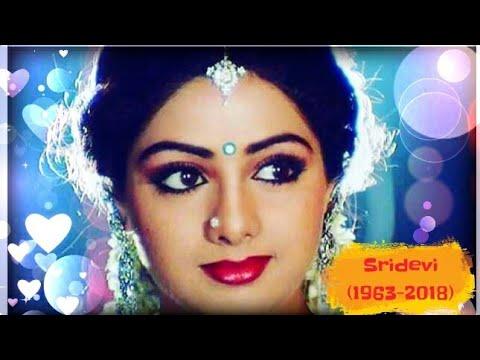 Sridevi passes away 😢 Life history of Sridevi, A Tribute to the legend!