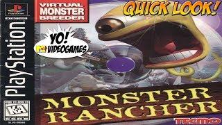 Playstation Original! Monster Rancher Quick Look - YoVideogames