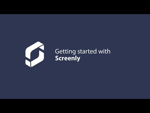 How to get started with Screenly