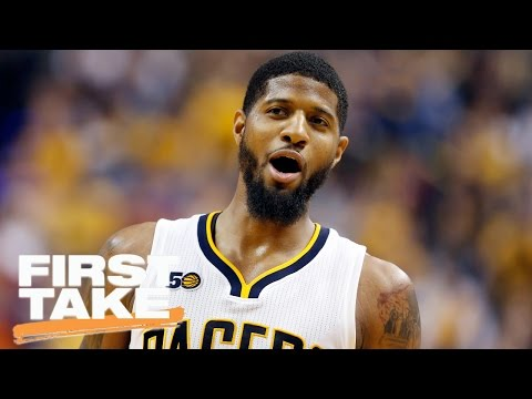 Max Kellerman: Lakers Should Not Trade For Paul George | First Take | April 25, 2017