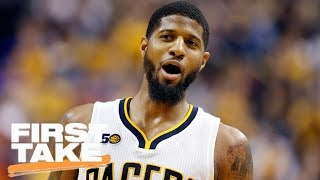 Max Kellerman: Lakers Should Not Trade For Paul George | First Take | April 25, 2017 thumbnail